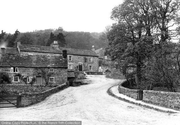 Photo of Blanchland, the Village c1950, ref. B555045
