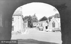 Blanchland, View Through Archway c.1960