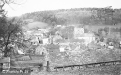 Blanchland, Village From The Woods c.1955