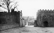 Blanchland, Warders Tower And Square c.1935