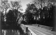 Blandford Forum, Bridge Over The River Stour c.1900