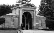 Blandford Forum, Bryanston School Gate c.1955