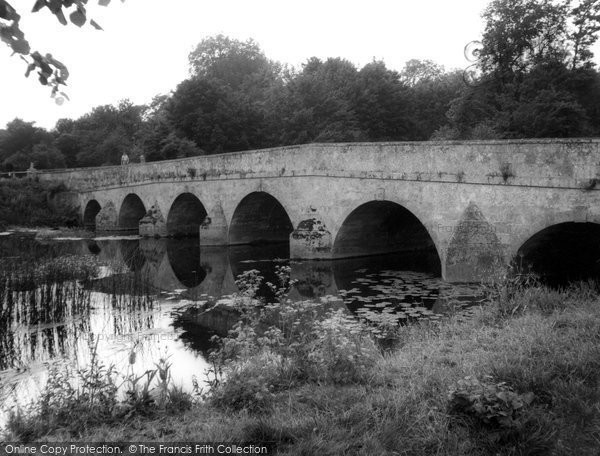 Blandford Forum, The Bridge c.1955