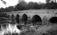 Blandford Forum, The Bridge c.1955