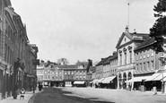 Blandford Forum, The Market Place c.1900