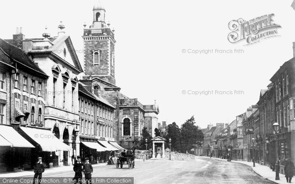 Blandford Forum, The Town 1900