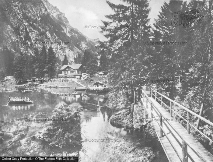 Photo of Blausee, c.1930