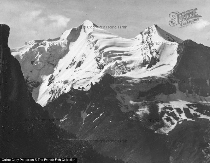 Photo of Blausee, The Doldenhorn c.1930