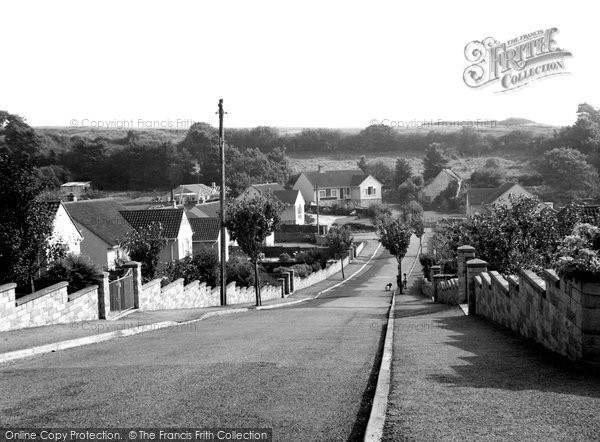 Bleadon, Birch Avenue c.1965