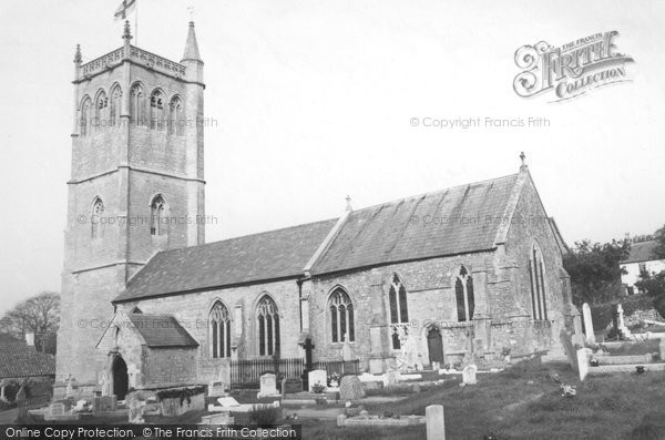 Bleadon, The Church Of St Peter And St Paul c.1960