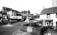Bleadon, The Village And Post Office c.1960