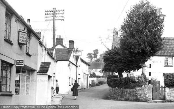 Bleadon, The Village c.1960