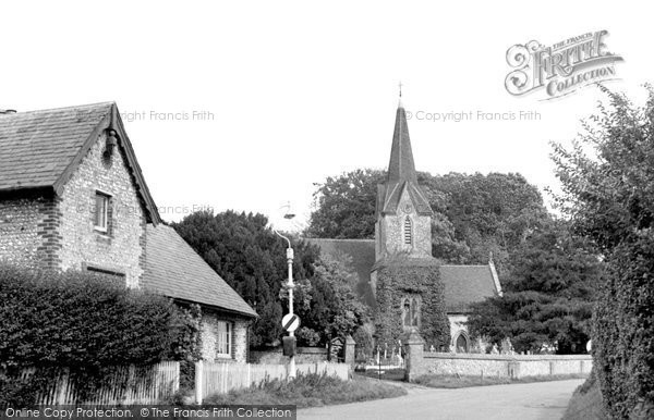 Blendworth, Holy Trinity Church c.1955