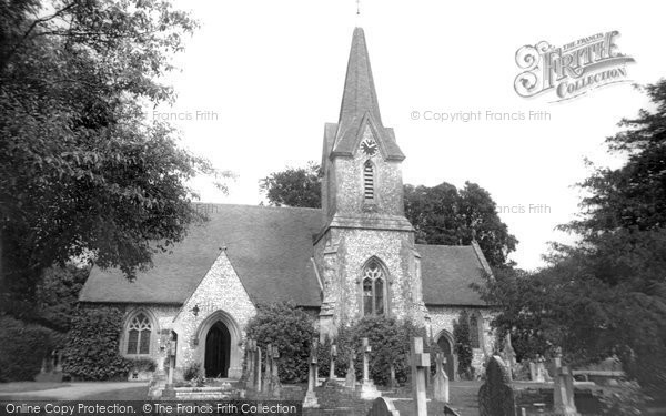 Blendworth, Holy Trinity Church c.1955