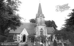 Holy Trinity Church c.1955, Blendworth