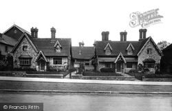 Bletchingley, Almshouses 1907