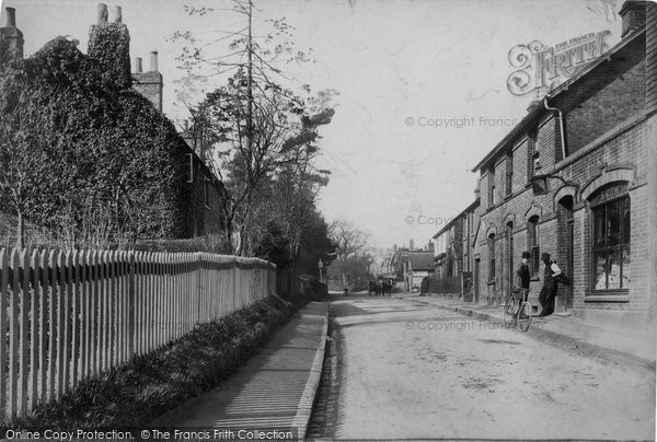Bletchingley, Castle Street 1905