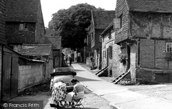 Bletchingley, Church Lane c.1955