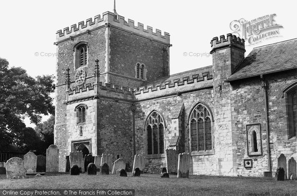 Bletchingley, Church Of St Mary The Virgin c.1955