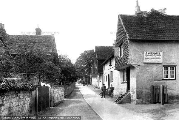 Bletchingley, Church Walk 1907