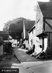 Bletchingley, Church Walk c.1965