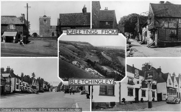 Bletchingley, Composite c.1955