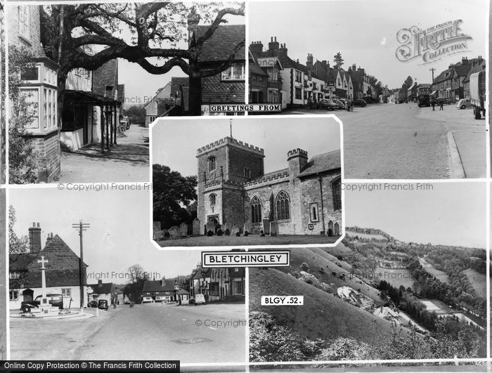 Bletchingley, Composite c.1965