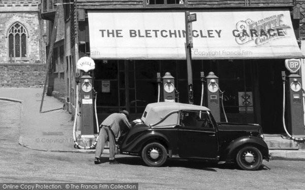 Bletchingley, Garage c.1955