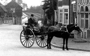 Bletchingley, Horse And Cart 1911
