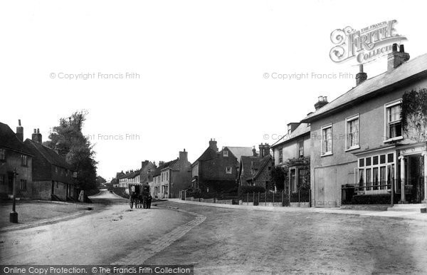 Photo of Bletchingley, Looking West 1907