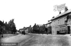 Bletchingley, Looking West 1907