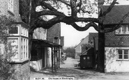Bletchingley, Old Houses c.1955
