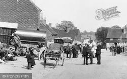 Bletchingley, On Fair Day 1907