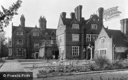 Bletchingley, Pendell Court, Sundial Garden c.1955