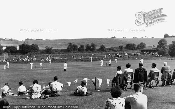 Bletchingley, The Cricket Field c.1955
