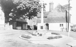 Bletchingley, The Memorial c.1965