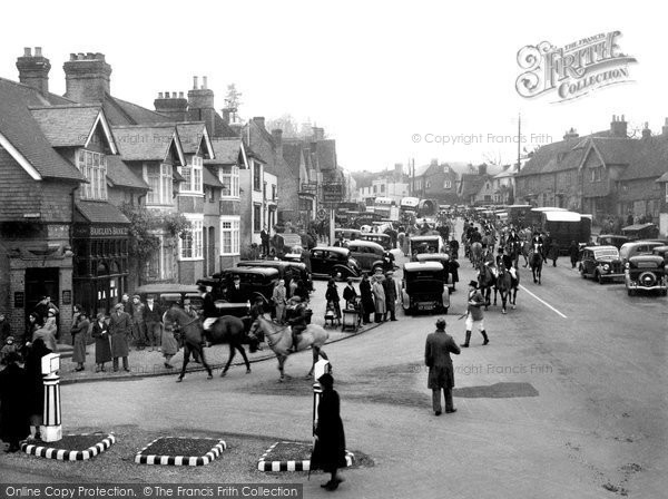 Bletchingley, The Morning Of The Hunt c.1945