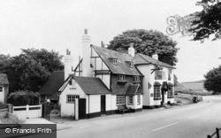Bletchingley, The Plough Inn c.1965