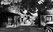 Bletchingley, the Village Butchers Shop c1935