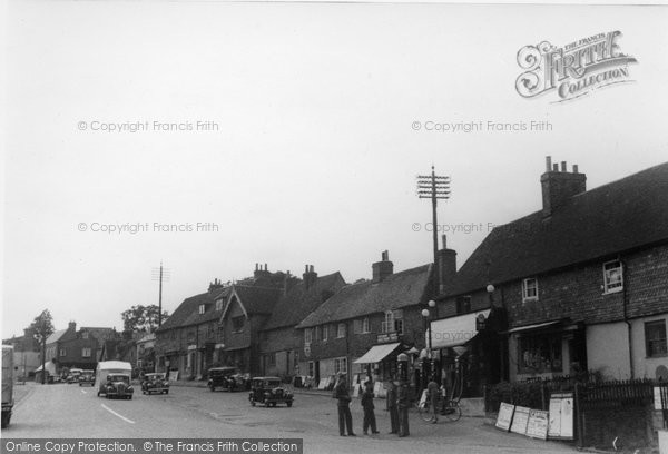 Bletchingley, The Village Centre c.1950