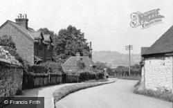 Bletchingley, Village Looking North c.1955