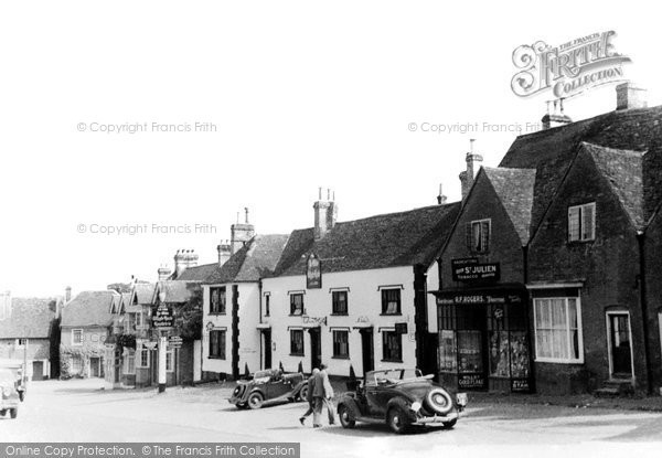 Bletchingley, Ye Olde Whyte Harte Ad 1388 c.1935