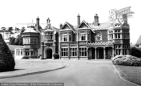 Photo of Bletchley, Bletchley Park c.1960