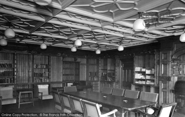 Bletchley, Bletchley Park, Quiet Room c.1955