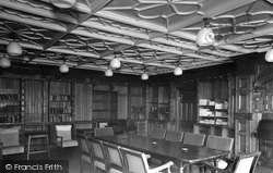 Bletchley Park, Quiet Room c.1955, Bletchley