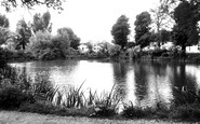 Bletchley, Bletchley Park, The Lake c.1955