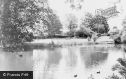 Bletchley, Bletchley Park, The Lake c.1960