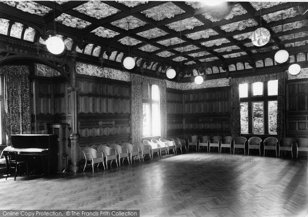 Photo of Bletchley, Bletchley Park, The Mansion Ballroom c.1960
