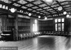 Bletchley, Bletchley Park, The Mansion Ballroom c.1960