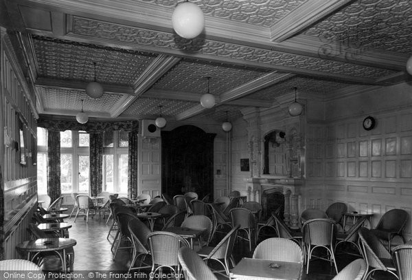 Photo of Bletchley, Bletchley Park, The Mansion Buffet Lounge c.1955